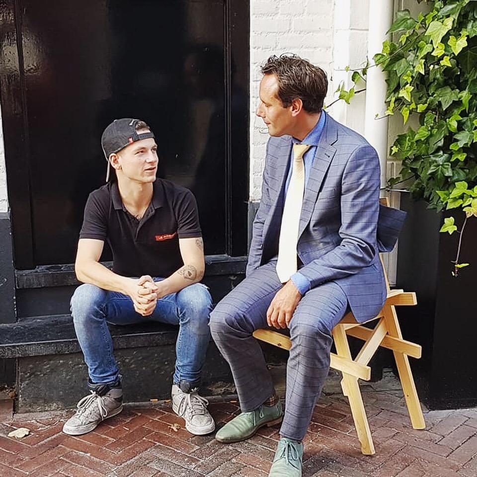 Artikel over burgemeester Harm-Jan in Burgemeesterblad